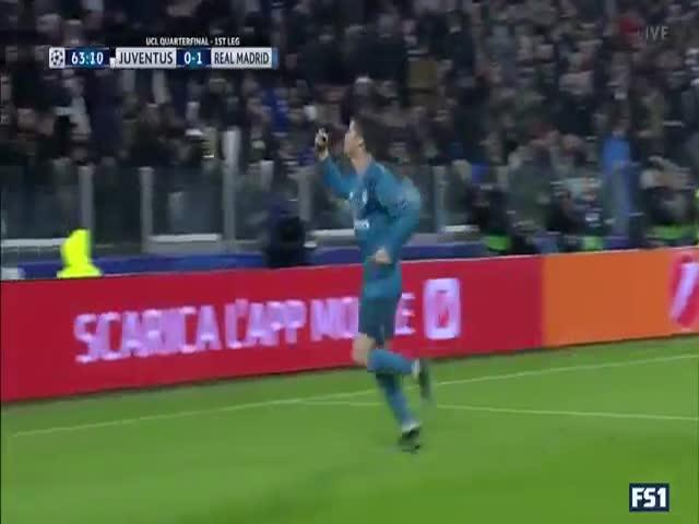 Криштиану Роналду забил гол в падении через себя
