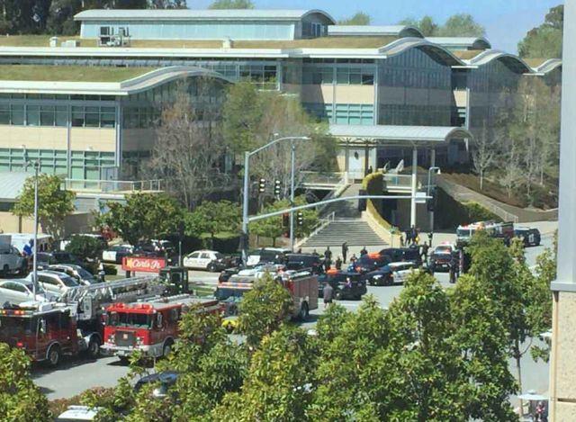 Стрельба в штаб-квартире YouTube в Калифорнии (18 фото + видео)