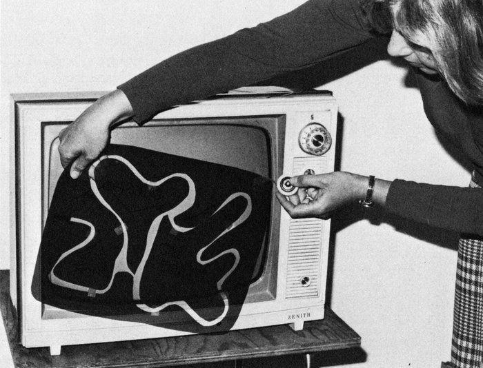 Редактирование уровней видеоигр в 70-е (4 фото)