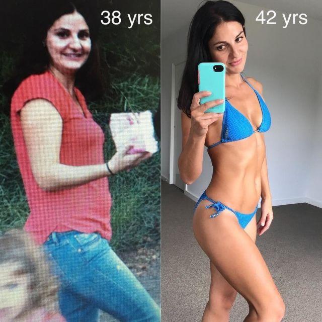 Спорт и диета помогли 42-летней матери двоих детей обрести фигуру мечты (9 фото)