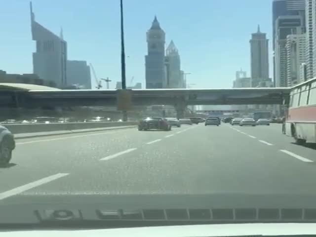 Нежданная встреча в ОАЭ