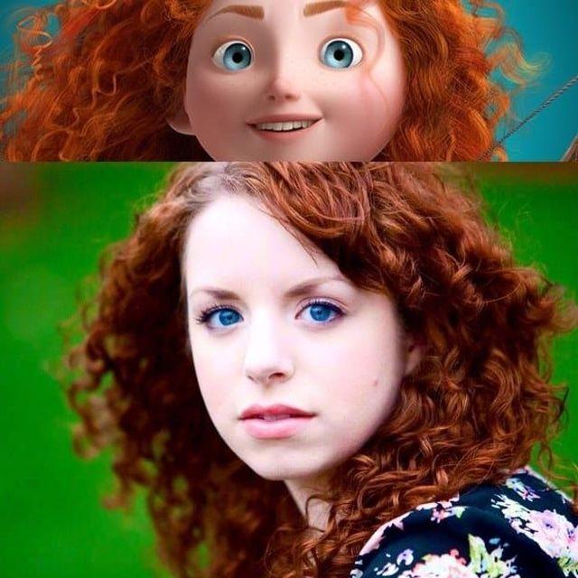Девушки, похожие на диснеевских принцесс (16 фото)
