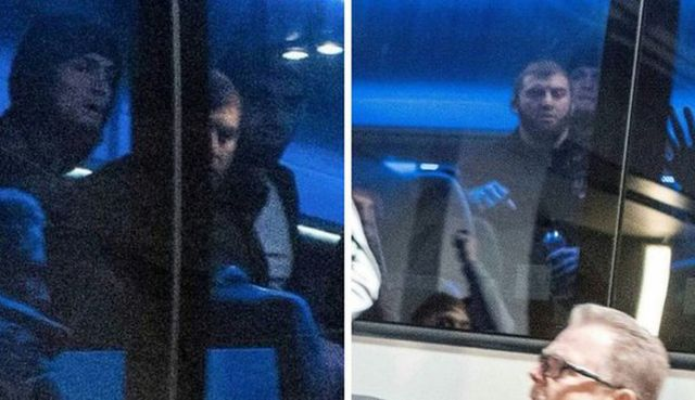 Конор Макгрегор напал на автобус, в котором был Хабиб Нурмагомедов