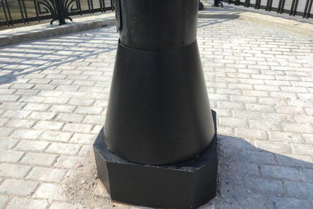 На Высоком мосту в Калининграде появились новые кожухи (3 фото)