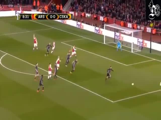 «Арсенал» одержал победу над ЦСКА со счетом 4:1