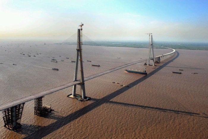 Cкоростные автомагистрали в Китае (7 фото)