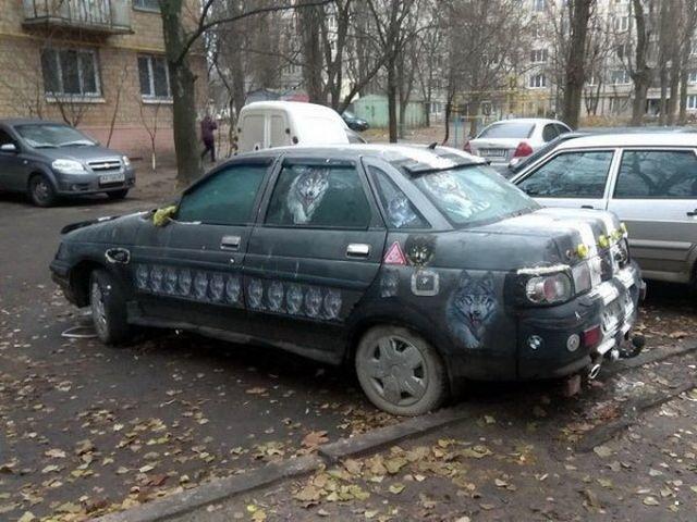 Подборка автоюмора (33 фото)