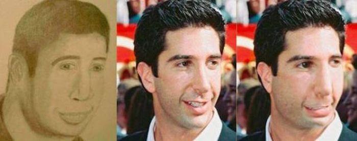 Если бы звезды выглядели так, как на своих неудачных портретах (21 фото)