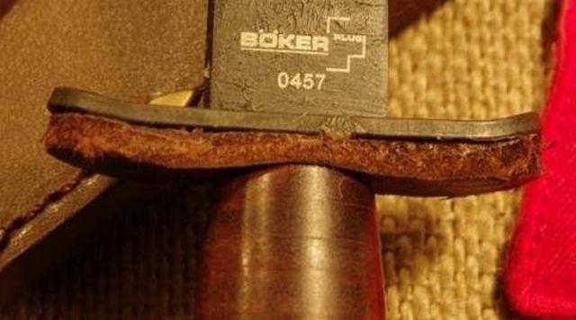 """Боевой нож американского спецназа V-42 """"Сокрушитель черепов"""" (6 фото)"""