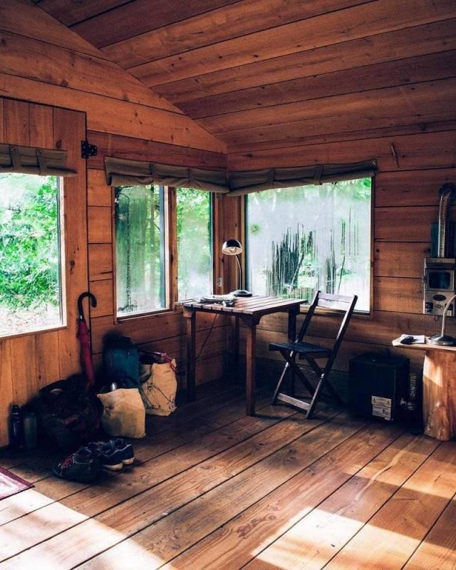 Прекрасные деревянные дома (25 фото)