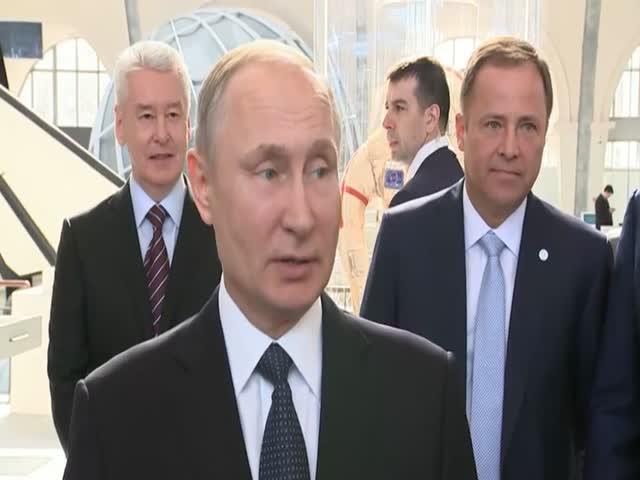 Владимир Путин о полетах на Луну