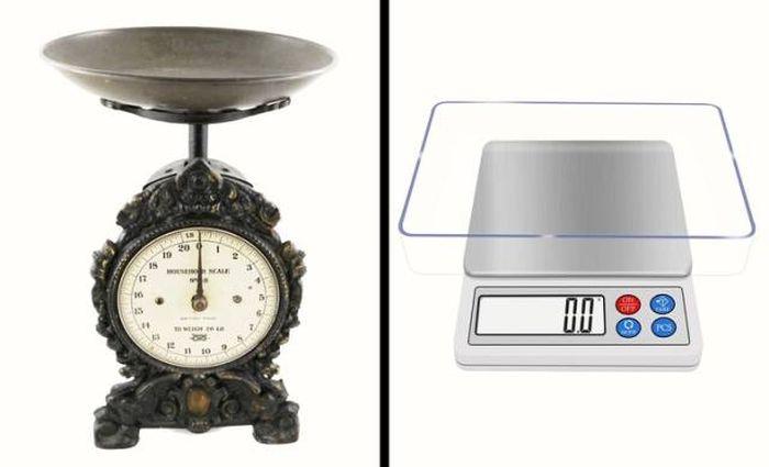 Бытовые предметы тогда и сейчас (21 фото)