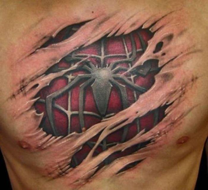 Креативные татуировки (34 фото)