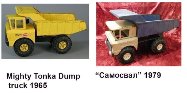 Популярные советские игрушки, оказавшиеся копией зарубежных оригиналов (14 картинок)