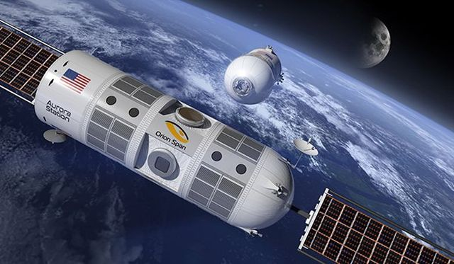 В 2021 году на орбите Земли появится первый космический отель (5 фото)