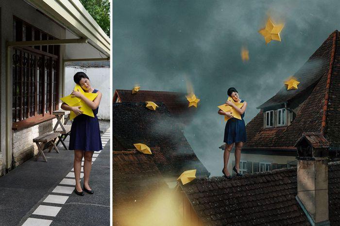 Сказочные истории на основе обычных фото (18 фото)