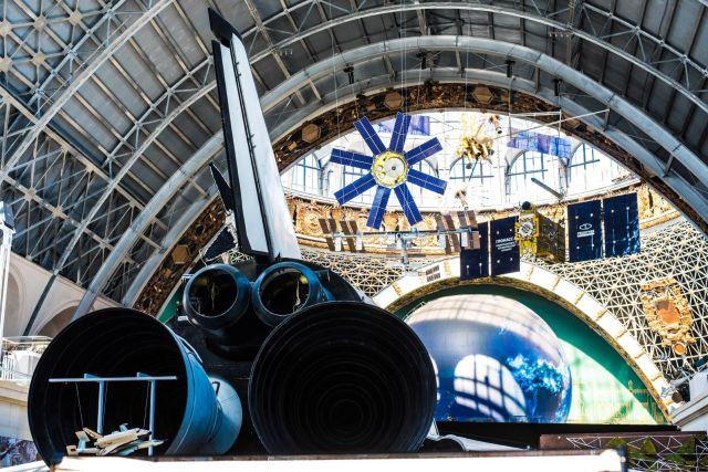 Павильон «Космос» на ВДНХ до и после реконструкции (9 фото)
