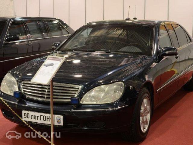 Лимузин Путина выставлен на продажу (7 фото)