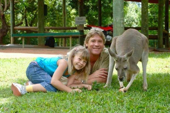 Бинди Ирвин, дочь Стива Ирвина, продолжает дело отца (23 фото)