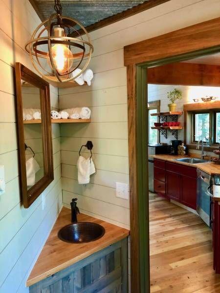 Лесной домик-отель для любителей уединенного отдыха (26 фото)
