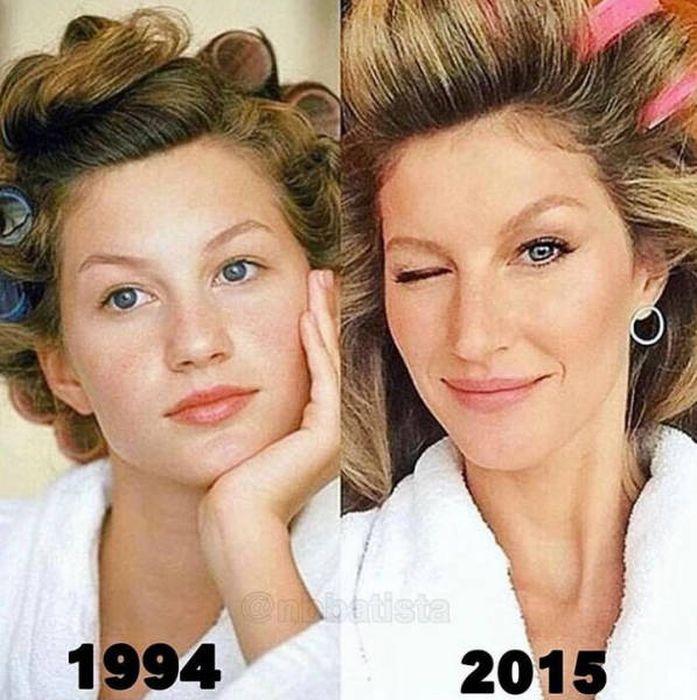 Известные модели в начале своей карьеры и сейчас (15 фото)