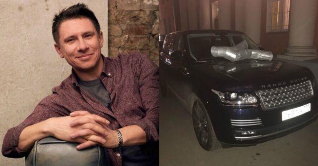 Тимуру Батрутдинову изуродовали внедорожник Range Rover за 5 миллионов рублей (2 фото)