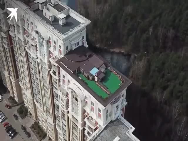 Пентхаус на крыше элитного дома в Москве