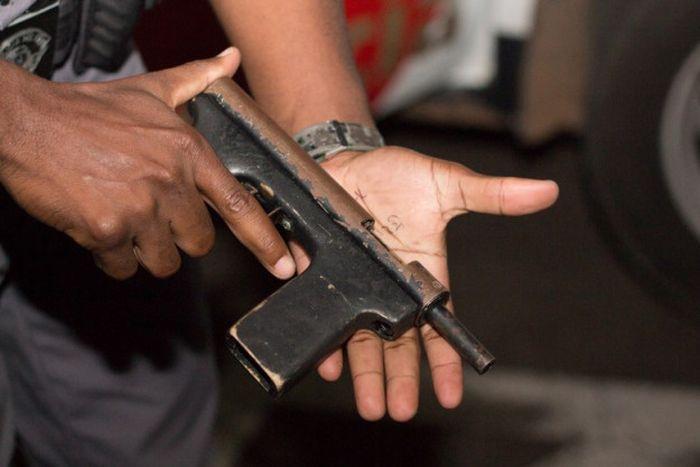 Кустарное оружие преступного мира (37 фото)