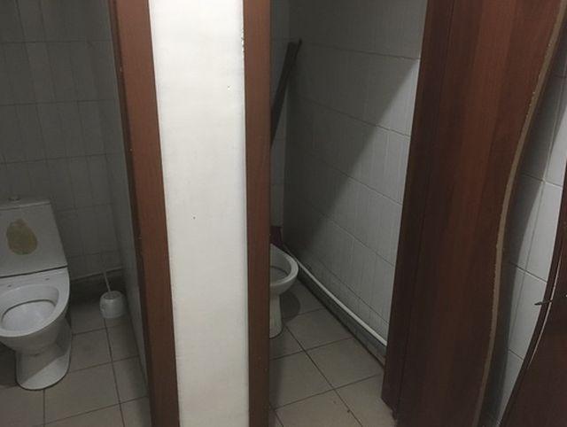 Туалет для интроверта и экстраверта (3 фото)