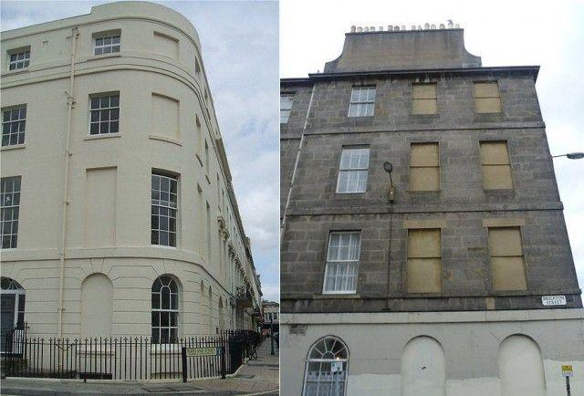 Из-за чего в Великобритании так много домов с заложенными кирпичом окнами (7 фото)