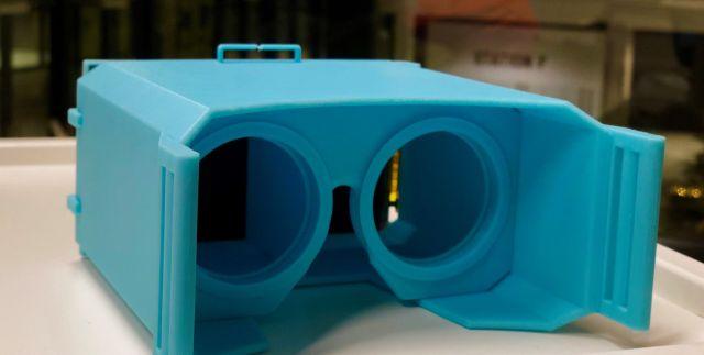 Французские школьники собрали дешевый аналог очков виртуальной реальности (4 фото)