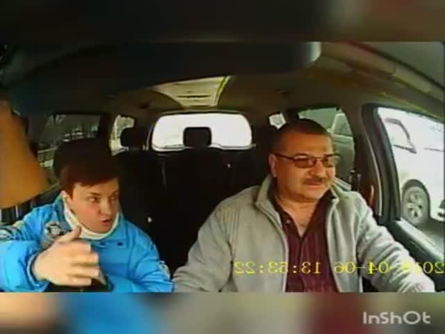 Болтливая пассажирка