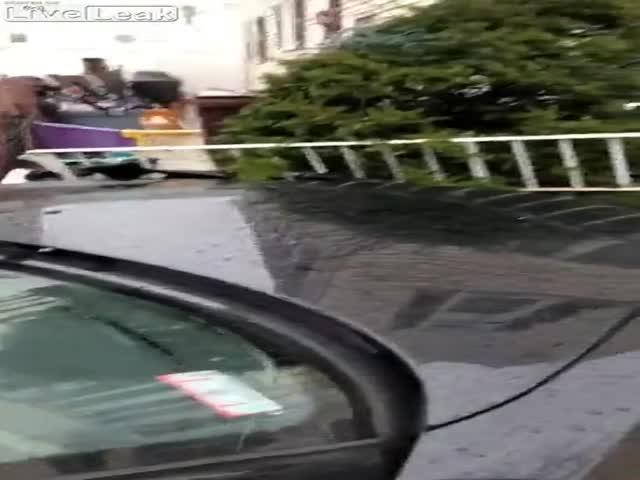 Новоиспеченный владелец BMW Z4 переоценил свои навыки вождения