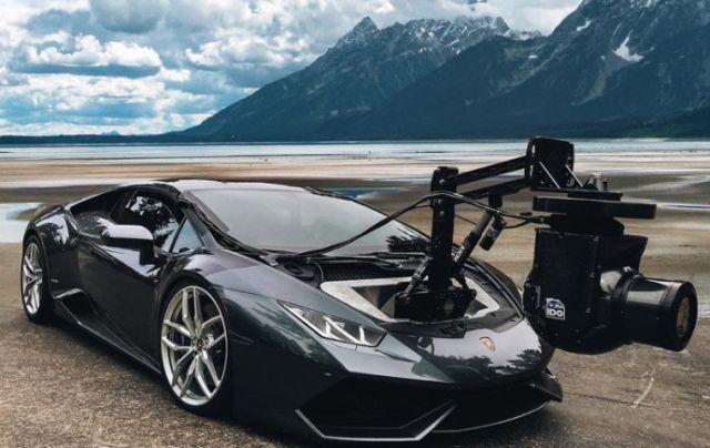 Камеромобиль на базе суперкара Lamborghini Huracan (3 фото)