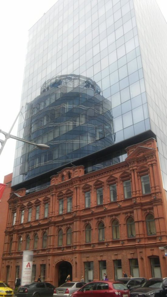 Слияние эпох в современной городской архитектуре (8 фото)