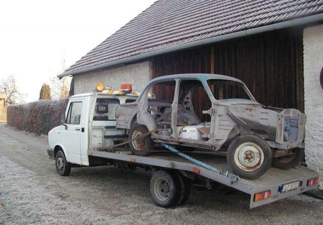 Фотоотчет реставрации Москвича-407 (24 фото)