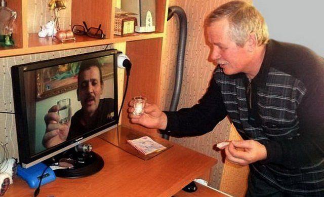 Странные русские развлечения (29 фото)
