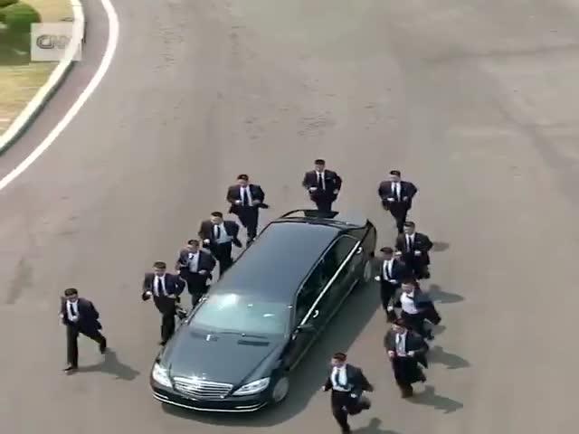 Нелегкая доля охранников Ким Чен Ына