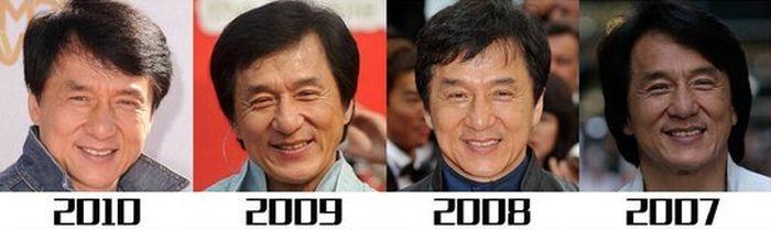 Как менялся с годами Джеки Чан (12 фото)
