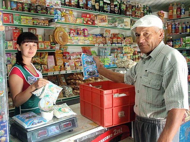 Симпатичные продавщицы (25 фото)