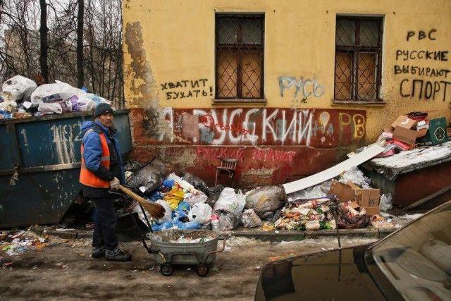 Печальная картина наших окраин (25 фото)