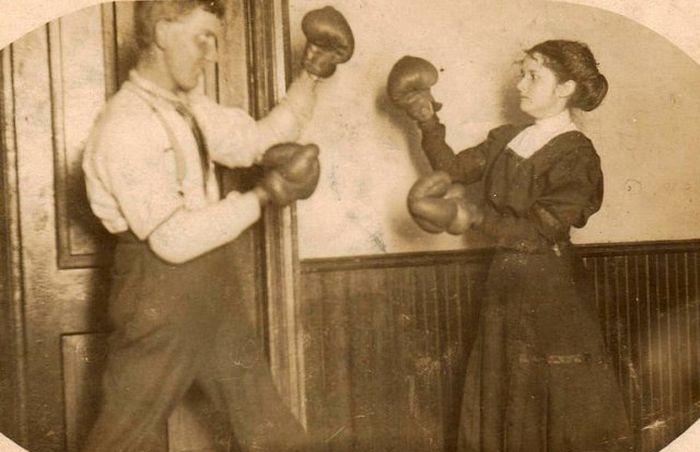 Странные и забавные исторические фото (28 фото)