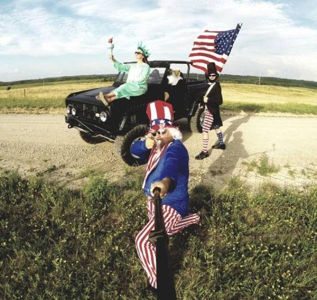 Странные и необъяснимые фото из США (32 фото)