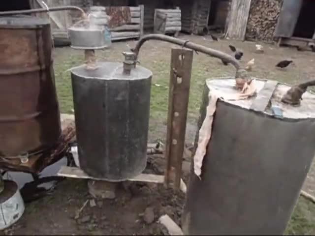Производство самогона в домашних условиях