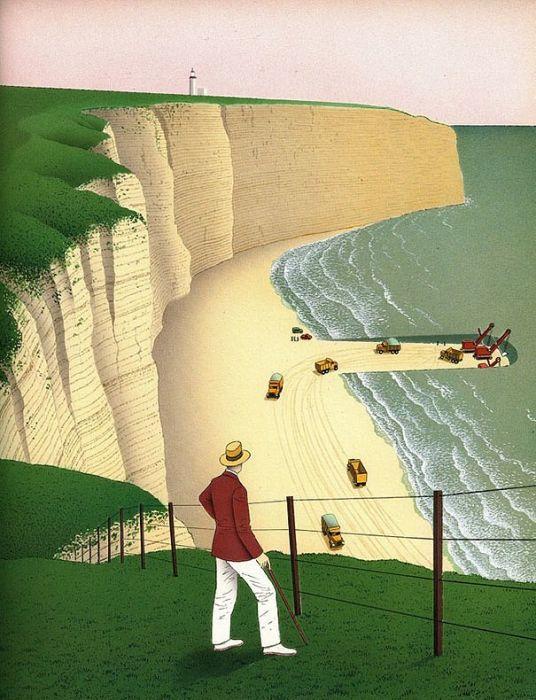 Сюрреалистичные рисунки Ги Бийю (24 картинки)