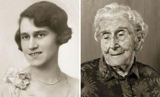 Старожилы Чехии в молодости и сейчас (13 лет)