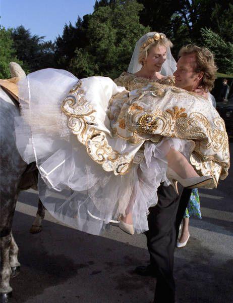Свадебные фото звезд (21 фото)