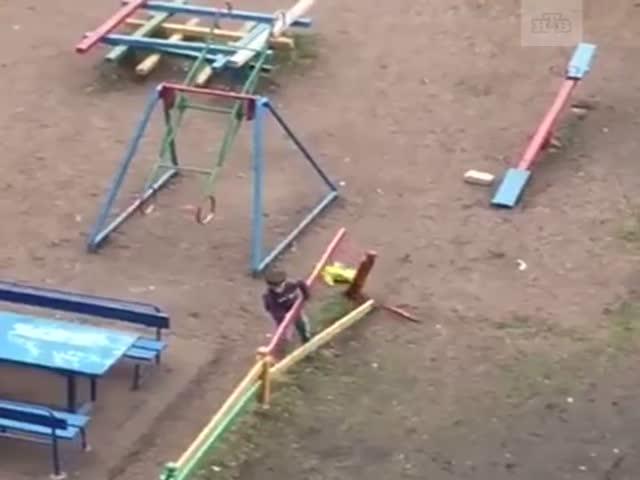 Вот так играют дети в Стерлитамаке