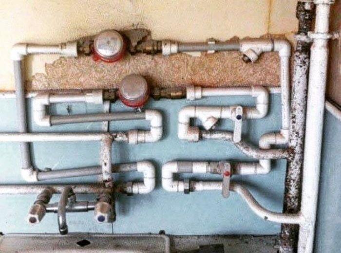 Строительные и ремонтные фейлы (24 фото)