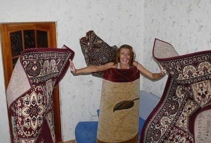 Смешные фото с коврами (32 фото)